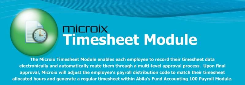 Microix Budget Module